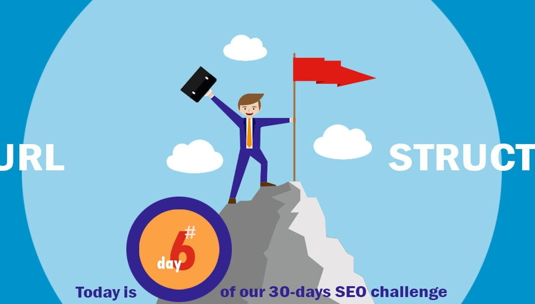 SEO Challenge Day 6 – A SEO-friendly URL Structure!