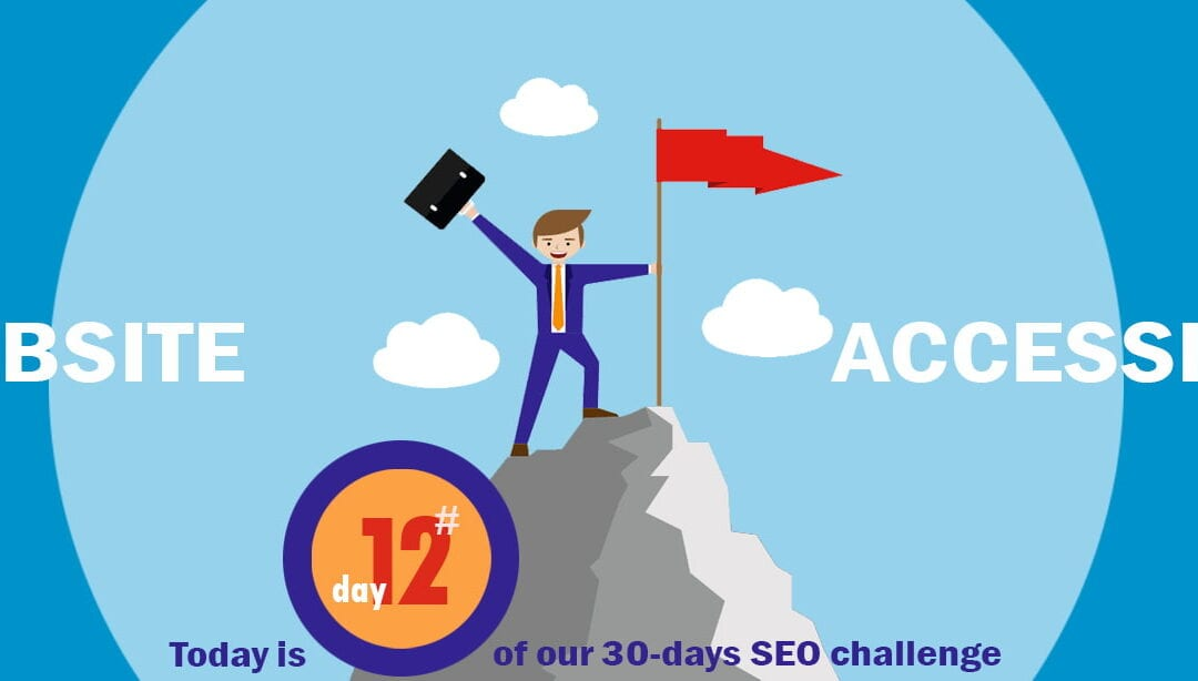 SEO Challenge Day 12 – Give Google A Tour Of Your Website