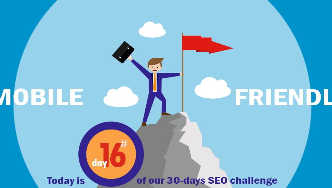 "SEO Challenge Day 16 – How ""mobile"" is your website?"